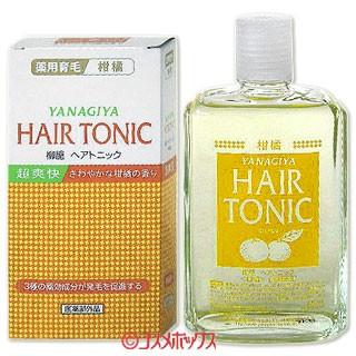 柳屋 ヘアトニック 柑橘 240mL HAIR TONIC Y...