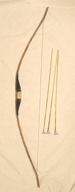 竹製手作り 弓矢セット大 120cmタイプ 【懐か...