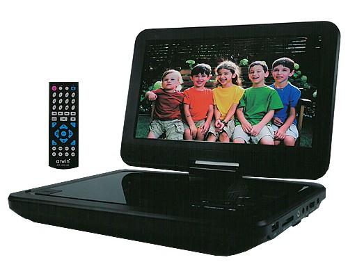 CPRM対応 3電源! 10.1型 車載対応 ポータブル DVD...