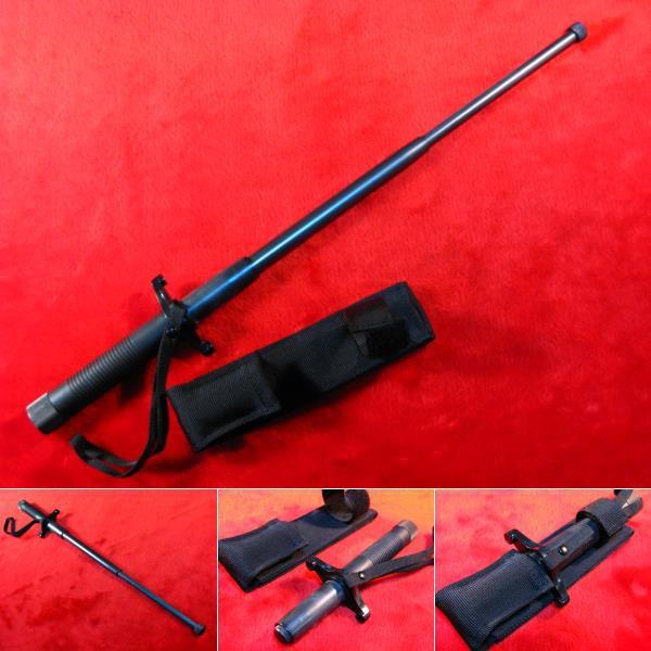 【遠州屋】 伸縮式特殊警棒(S-1) 対武器用 鍔...
