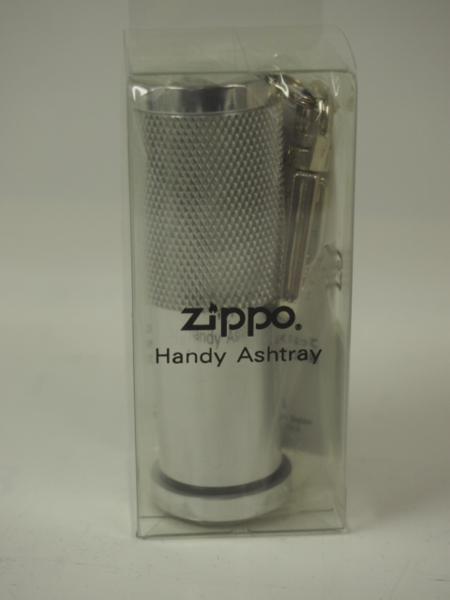 絶版 Zippo アルミ 携帯 灰皿 (銀色HA-20)★ジ...