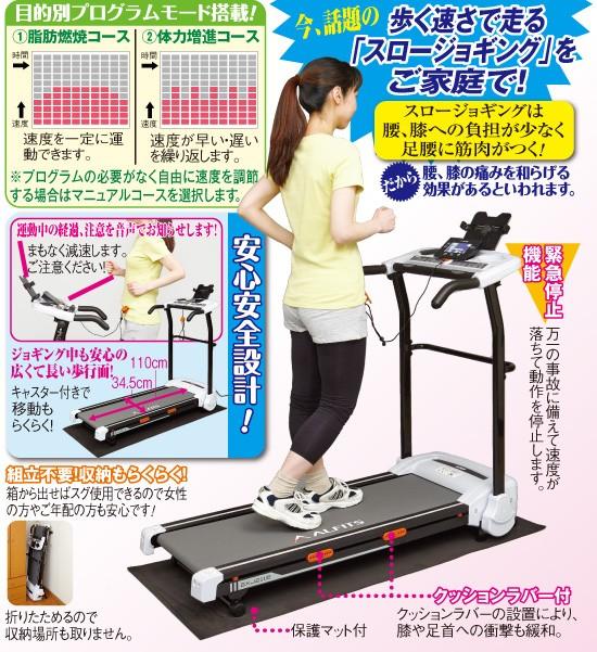 話題のスロージョギング健康機(53846-000)