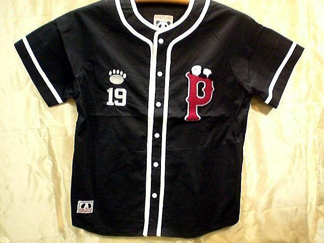 PANDIESTA JAPAN 半袖ベースボールシャツ PANDI...