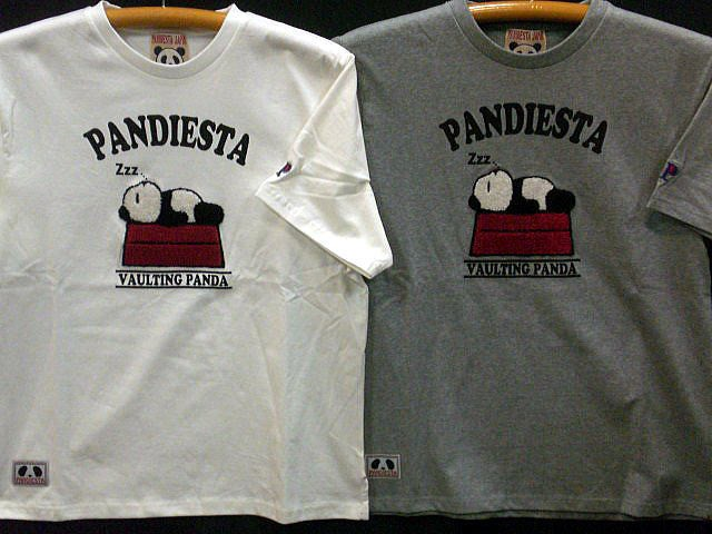 PANDIESTA JAPAN 半袖Tシャツ SLEEPING PANDIES...