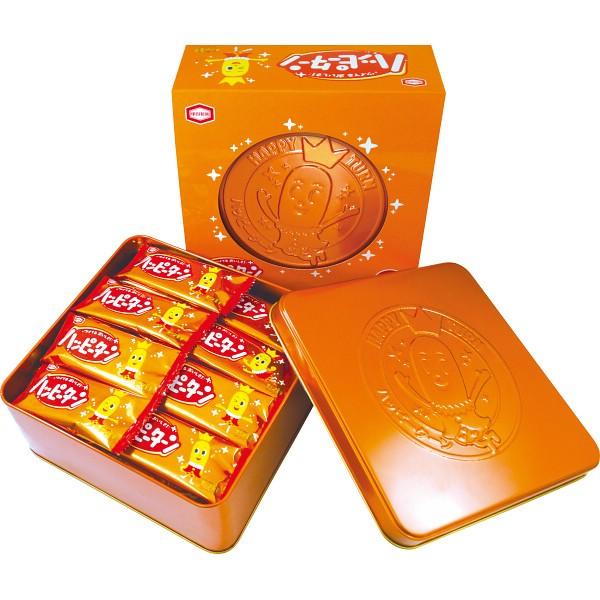 ハッピーターン缶(24枚入) /お菓子/洋菓子/お...