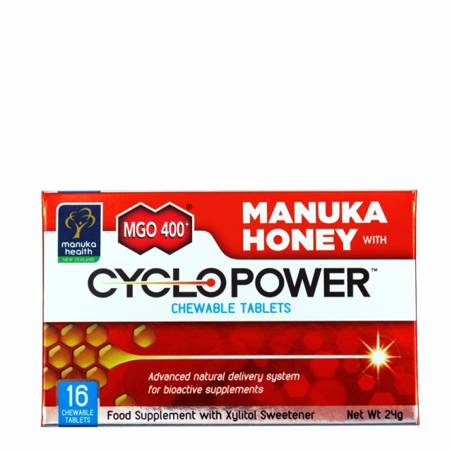 ◆サイクロパワー マヌカハニーチュアブルタブレ...