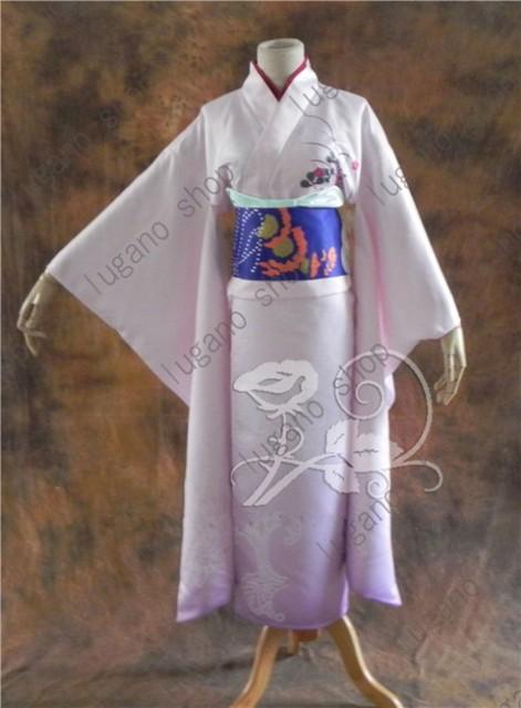 LUGANO 空の境界 両儀式(りょうぎ しき) 着物 ...