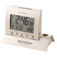デジタル電波時計 置時計 デルテンポ DL-1