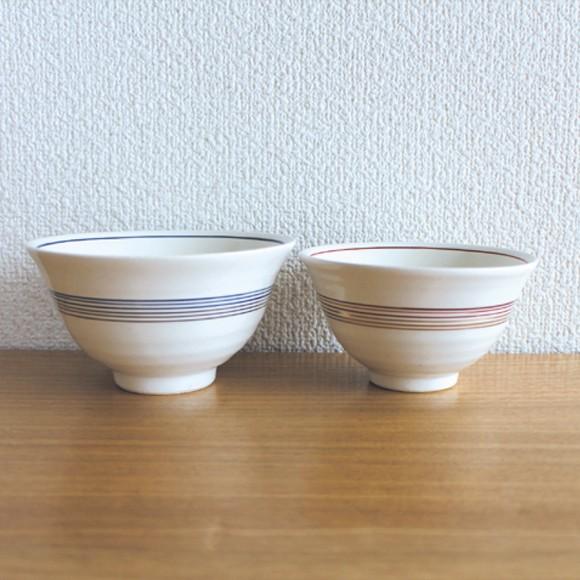 mizuhiki 夫婦茶碗 おしゃれな飯碗のペアセット ...