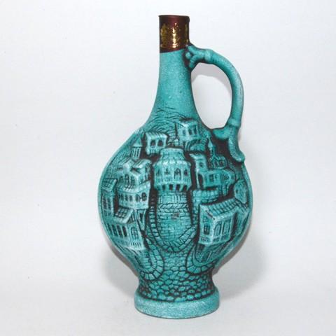 グルジア(ジョージア)ワイン カクウリ 陶器瓶 7...