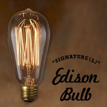 Edison Bulb SIGNATURE (Lサイズ) シグネチャー L...