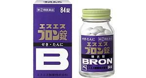 【指定第二類医薬品】エスエス ブロン錠 84錠 せ...