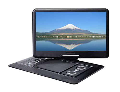 最大級大型画面15.6型ポータブルDVDプレーヤー