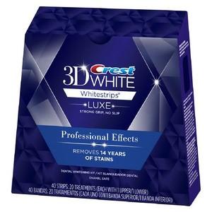 クレスト3Dホワイト プロフェッショナルエフェクツ20回分(40枚)セット Crest 3d White 歯のホワイトニング【送料無料】