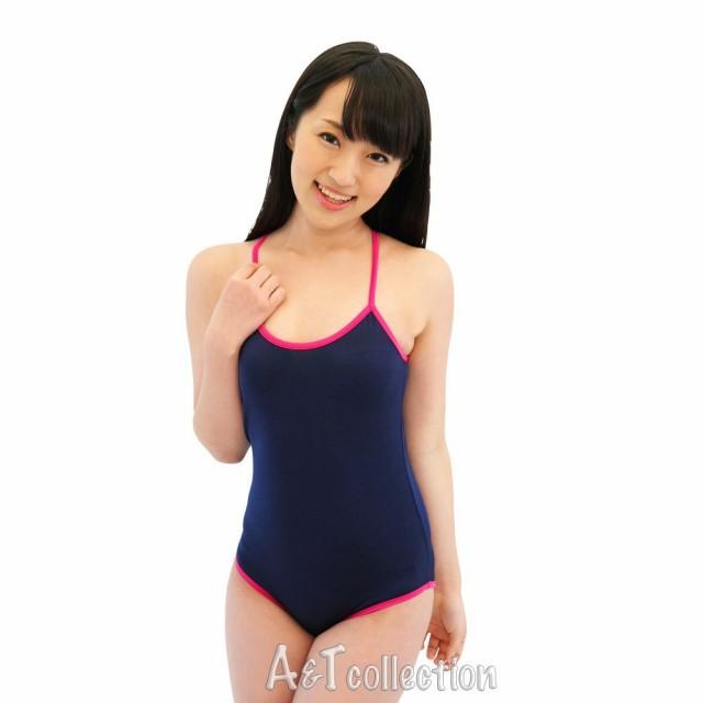 『AKIBAスクール水着 紺xピンク』 コスプレ衣装 ...