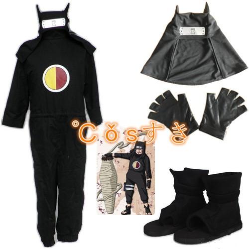 NARUTO ナルトカンクロウコスプレ衣装 全部セット...
