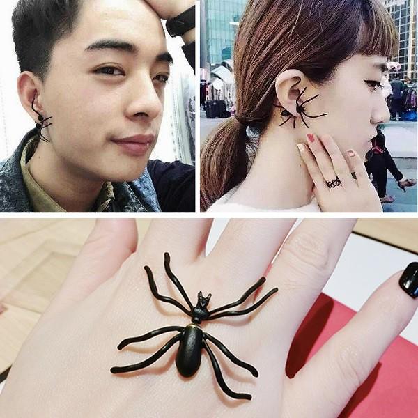 【メール便無料】クモピアス ユニセックス 蜘蛛...