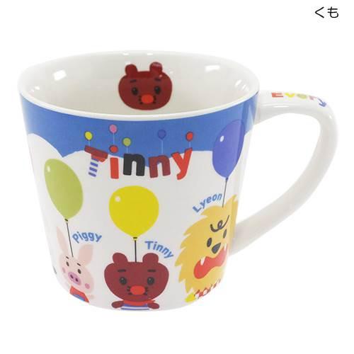 ◆ふうせんいぬティニー[マグカップ]陶器製マグカ...