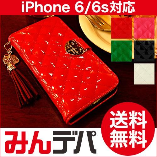 iPhone6s iPhone6 ケース カバー エナメル 手帳 F...