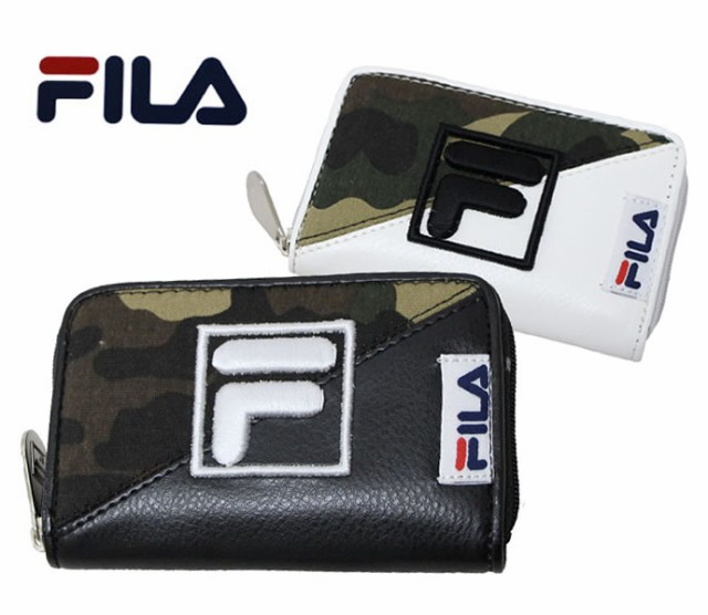 【FILA】フィラ迷彩コンバートコインケース (小...