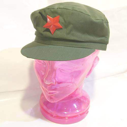 人民帽(大人サイズ)・人民帽子カーキ色