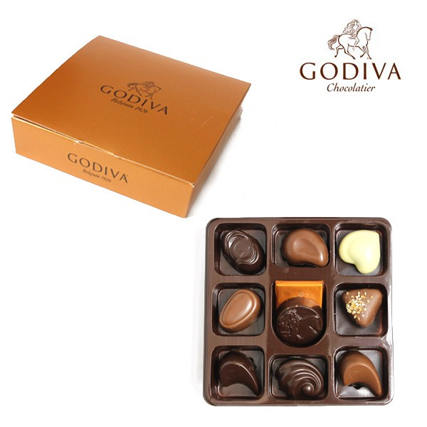 後払い 【あす着】ゴディバ チョコレート GODIVA ...