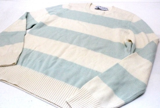 あす着 KITSUNE キツネ メンズ ボーダーニットセーター トップス トレーナー ギフト プレゼント レディース メンズ