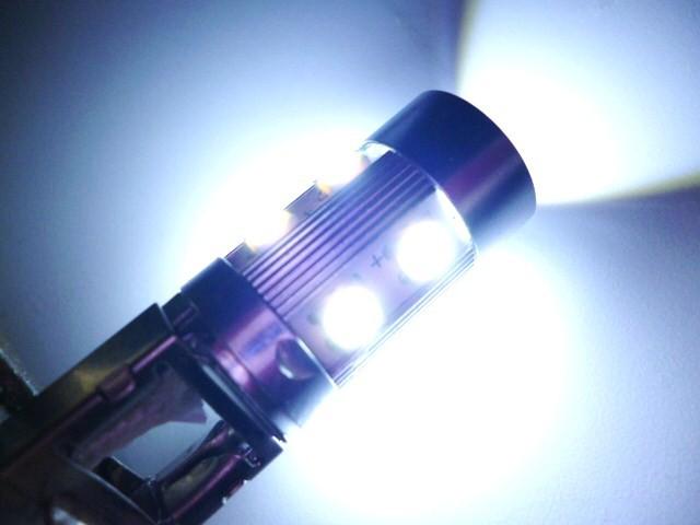 綺麗に輝く【LED H3バルブ 12V/24V共用】ハイセン...