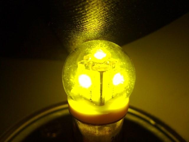【LED電球型 BA15Sトラック用24V】JET LEDバルブ...