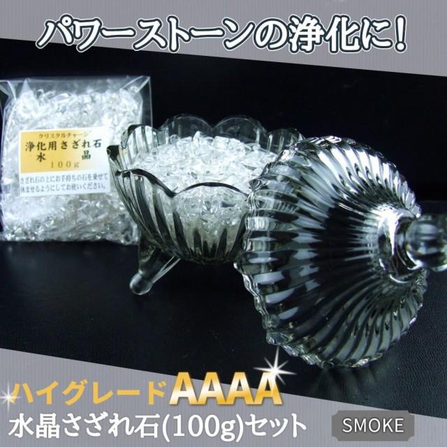 ★CUTE★ガラス容器(スモーク)&ハイグレード水...