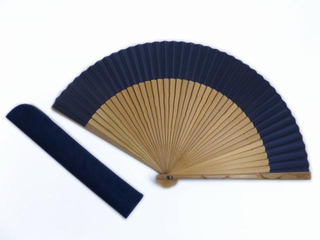 浴衣&着物に 粋なメンズ男物男性彫龍シルク扇子...