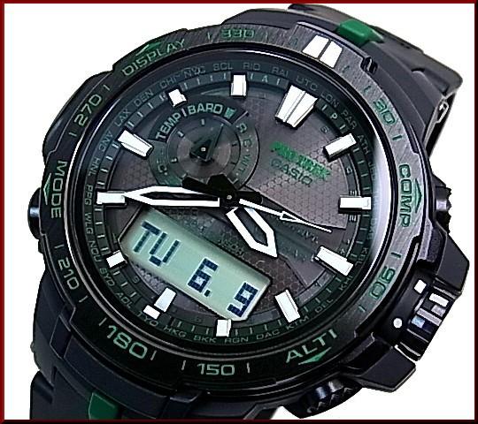 a463b01412 カシオ/CASIO【PROTREK/プロトレック】RMシリーズ ソーラー電波腕時計 トリプルセンサー