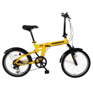 ★「ハマー/20インチ折畳自転車(6段ギア・FDB206S...