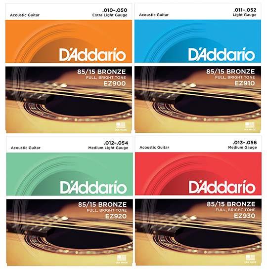 【期間限定特価】D'addario/アコースティック弦 8...