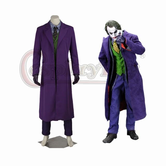 高品質 高級コスプレ衣装 バットマン 風 ジョーカ...