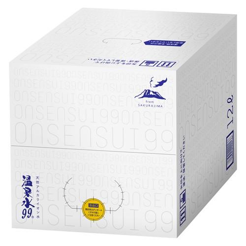 温泉水99  12L (バッグ イン ボックス)