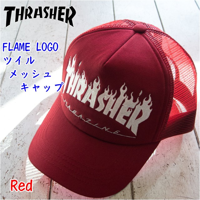 THRASHER(スラッシャー) FLAME LOGO ツ...