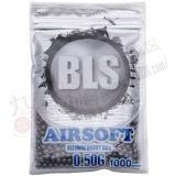 BLS 超精密プラスティックBB弾 0.5g (1000発 ...