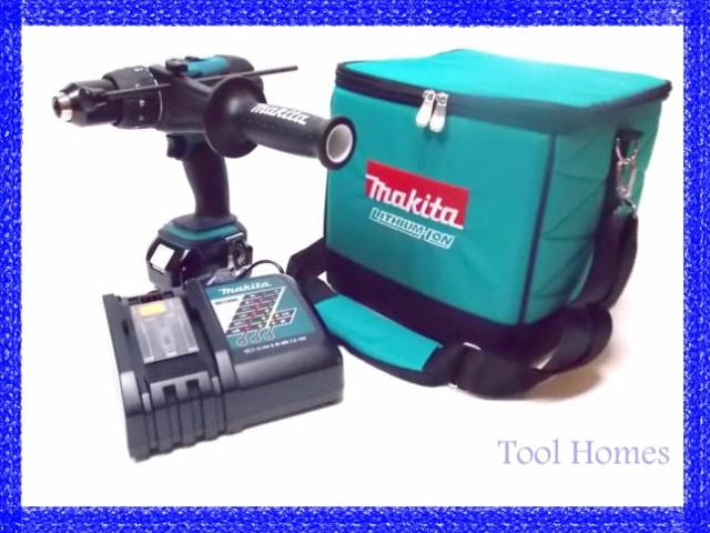 マキタ 18V 充電式 振動ドリル4点セット HP458DZ ...