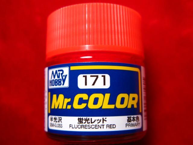 【遠州屋】 Mr.カラー (171) 蛍光レッド 基本色 ...