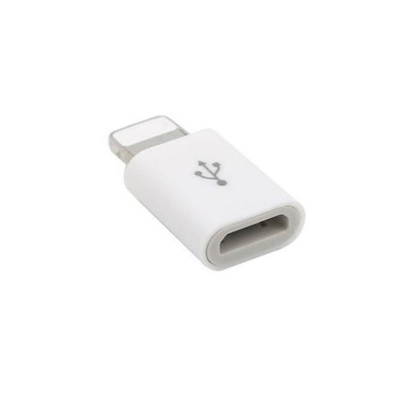 お試し【iphone 充電器へ micro-USB 変換アダプタ...
