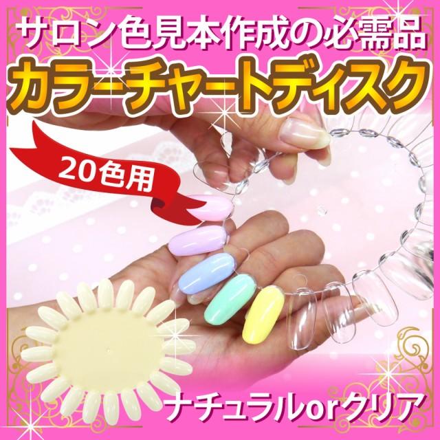 カラーチャートディスク[20色用]【クリア・ナチュ...