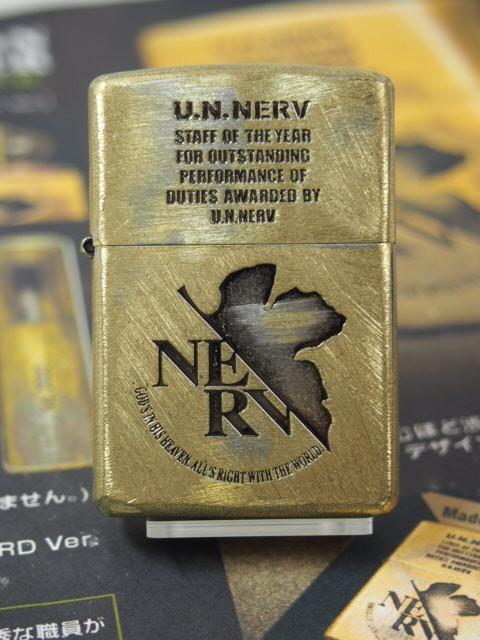 Zippo エヴァンゲリオン  EVANGELION U.N.NERV ジ...