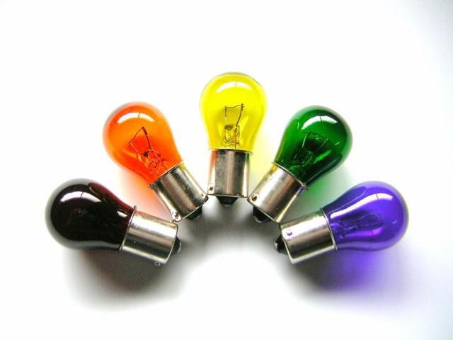 【24Vバルブ 電球】24V25Wバルブ 生地着色球なの...