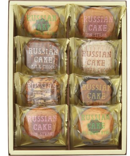 ロシアケーキ8個 /お菓子/洋菓子/お土産/スイーツ...