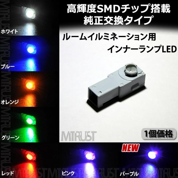 保証付 LED 純正交換用 SMD1連 グローブボックス...