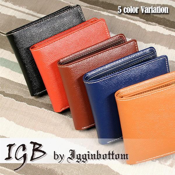 財布 メンズ 二つ折り 革短財布 IGB-1100 ショー...