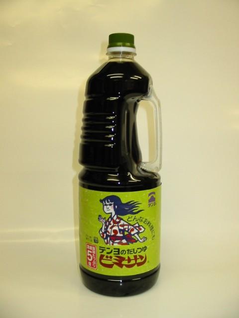 テンヨのだしつゆ ビミサン  1.8L