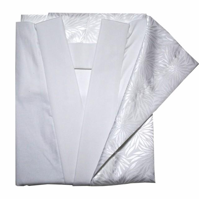 日本製 胴抜き長襦袢 仕立て上がり 半衿付き 抜衿...