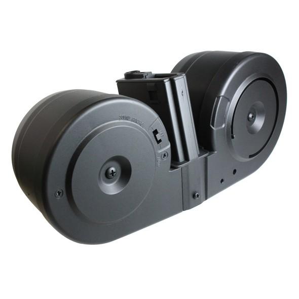 【M4フェア】A&K M4用 電動ドラムマガジン 音感セ...